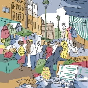 16 ridley road market stalls