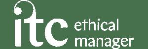 ITC Logo Ethical White transparent